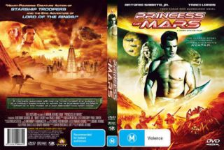 PRINCESS OF MARS Antonio Sabato Jr Traci Lords NEW DVD