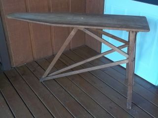antique ironing board in Primitives
