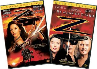 Legend of Zorro, The Fullscreen Mask of Zorro Deluxe Edition DVD, 2006