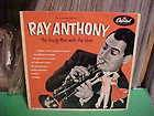 ONLY NO RECORD 10 INCH RAY ANTHONY YOUNG MAN WITH THE HORN CAPITOL