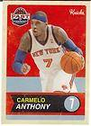 Hot Hip Hop New York Knicks Hats VINTAGE Cap for Carmelo Anthony Fans