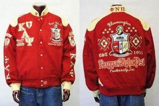 KAPPA ALPHA PSI RED RACE Jacket Coat L 6X KAPPA ALPHA PSI RACE JACKET