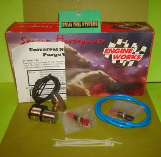 ENGINE WORKS NITROUS OXIDE PURGE KIT HOT ROD STREET ROD RACE CAR