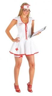 Sexy White Pvc Nurse Dress Uniform Costume Medic