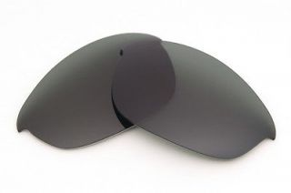 VL Polarized Stealth Black Replacement Lenses for Oakley Half Jacket