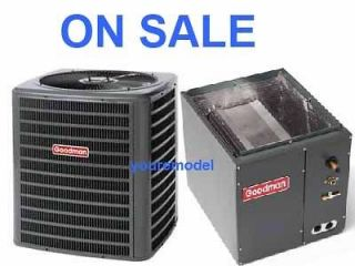 GOODMAN 16 SEER 3 TON AC CENTRAL AIR CONDITIONER R410A & Matching Coil