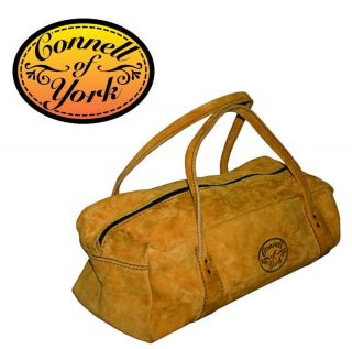 Suede Leather Carpenters Carpentry Tool Bag 18 Holdall