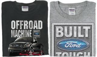 pack Ford T shirts built ford tough truck trucks f150 Short sleeve