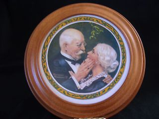 norman rockwell limited edition plates