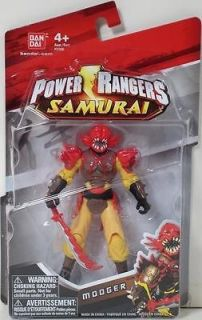 POWER RANGERS SAMURAI 4 EVIL MOOGER Figure #31506 MIGHTY MORPHIN MMPR