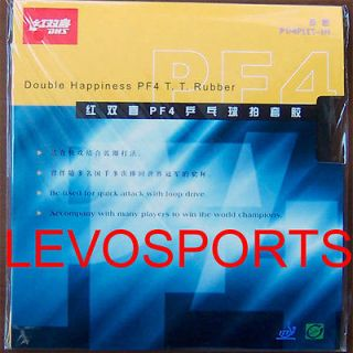 DHS (Double Happiness) PF4 Table Tennis Rubber w/Sponge, Brand New