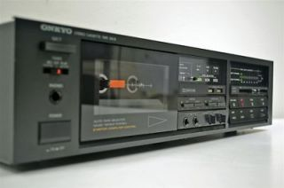 Onkyo Stereo Cassette Deck Tape Player Recorder TA 2028
