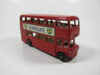 Vintage Matchbox Lesney No 5 Routemaster Bus Made In England