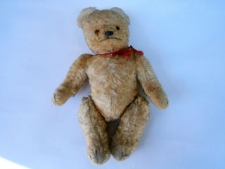 ANTIQUE BROWN GOLD RARE MOHAIR HUGE EARLY TEDDY BEAR HUMP STEIFF BING
