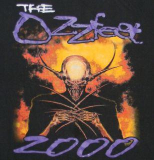 The Ozzfest 2000 Ozzy Osbourne Black Tour T Shirt 2XL Pantera Godsmack