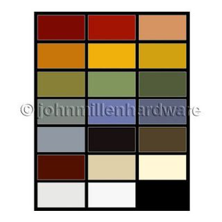 Pint Old Fashioned Milk Paint, 20 Color Options