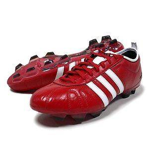 adidas adiPure IV TRX FG SOCCER CLEATS  Red with White [U42819]