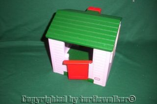 Vintage LITTLE TIKES DOLLHOUSE Size PLAYHOUSE COTTAGE