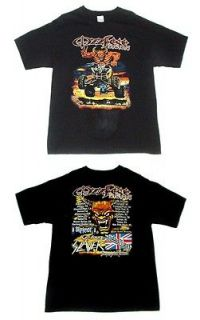 Vintage Ozzy Osbourne OZZFEST 2004 Slayer Judas Priest Slipknot T