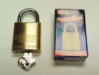 ABUS 83/45 High Security Padlock   Schlage Keyway, We Can Rekey to