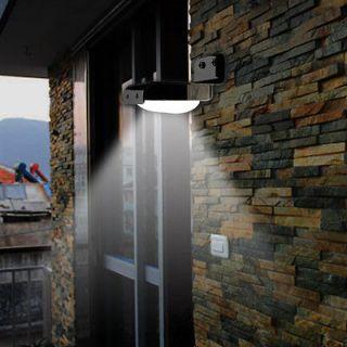 16 LED Solar Power Motion Sensor Detector Outdoor Wall Light Home