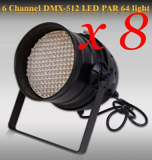 PCS Stage Use LOT DJ 177 LED Lights RGB PAR 64 DMX STAGE PARTY SHOW