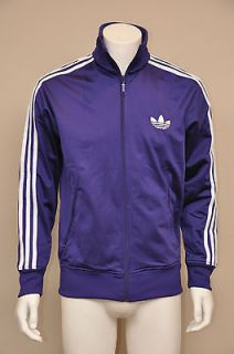 Adidas Originals Adi Firebird College Purple/White Stripe Mens Track
