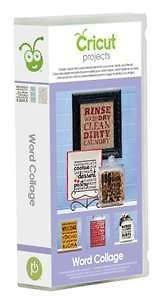 Newly listed WORD COLLAGE Cricut Cartridge Brand New Sealed