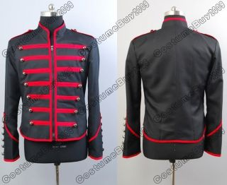 My Chemical Romance Military Parade Jacket Black & Red