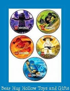 15 Lego Ninjago Ninja Stickers Party Favors