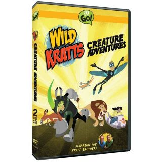 WILD KRATTS : CREATURE ADVENTURE (NEW & SEALED R1 DVD)