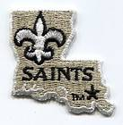 New Orleans Saints NFL Football Logo Pendant Necklace