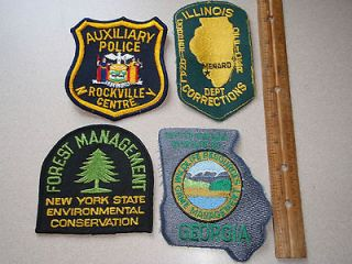 ILLINOS DEPARTMENT CORRECTION OFFICER MENARD ILL ONE PATCH AUCTION