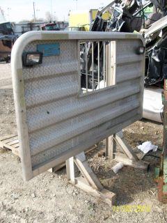 Headache Rack Aluminum Semi Truck Peterbilt Kenworth Mack Freightliner
