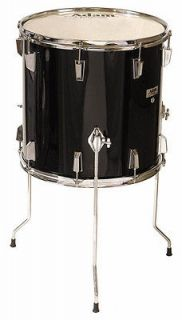 Adam Percussion 16 x 16 Black Floor Tom Drum