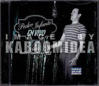 PEDRO INFANTE En Vivo Gira Centro y Sudamerica 1957 CD Mexican Edition