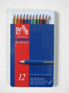 Caran Dache   Classicolor Water Soluble Colour Pencils (10 TINS OF 12