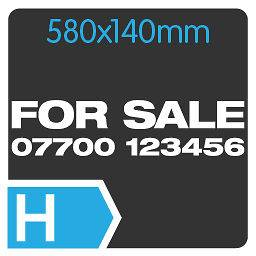 FOR SALE + PHONE NUMBER Custom Large Car/Van/Window Vinyl Decal