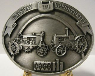 Case Parts Trade Fair Pewter Tractor Belt Buckle Gift Edition Farmall