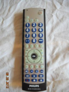 PHILIPS UNIVERSAL TV/VCR/SAT REMOTE   CL035A   ORIGINAL   NO SCRATCHES
