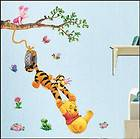 Disney WINNIE THE POOH DECOR MURAL Vinyl Wall Decal Sticker paper