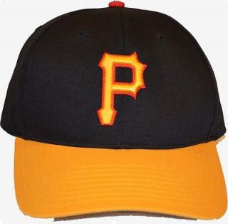 MLB Pittsburgh Pirates Black/Yellow Snapback Hat   Grey Underbrim