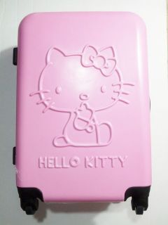 Imported Hello Kitty 20 PINK Luggage Bag Roller Baggage Travel Trunk