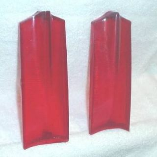 Plymouth Valiant Barracuda 1965 Tail Light Lenses New Reproductions