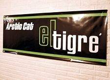 Vintage Arctic Cat El Tigre Snowmobile Banner