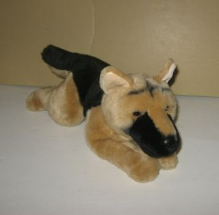 12 Harley Davidson Mascot Bean Plush German Shepherd Puppy Dog