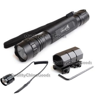 Tactical Xenon 12V flashlight + Mount + Pressure Switch
