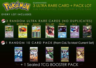 Pokemon 3 Ultra Rare Card Lot w/1 EX Prime Legend +Pack keldeo Kyurem