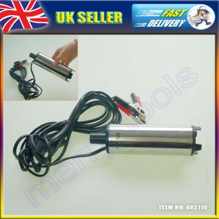 Diesel Fuel Water Oil Caravan Truck Camping Submersible Transfer Pump