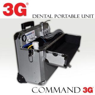 PORTABLE DENTAL UNIT DELIVERY SYSTEM KOMMAND 3G PORTATIL DENTAL